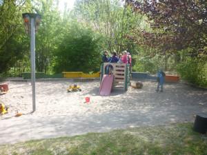 Kindergarten Röntgenstrasse Außenansicht