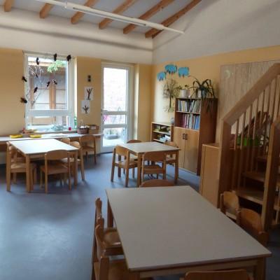 Kindergarten Wallstrasse Innenansicht